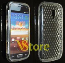 Cover Custodia Gel TPU Trasparente Per SAMSUNG GALAXY ACE 2 i8160 silicone