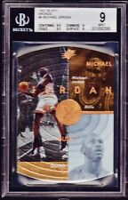 "1997-98 SPX ""BRONZE"" #6 MICHAEL JORDAN *BGS MINT 9. *ONLY 2 GRADED HIGHER!"