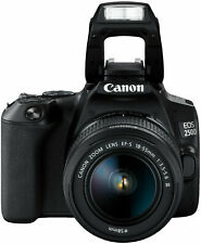 CANON EOS 250 D 18-55 mm DC Spiegelreflexkamera, 24.1 Megapixel, HD