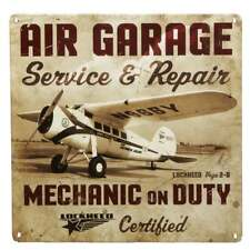 Gifts For Aviators Air Garage Repair Tin Aviation Sign