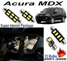 13pcs Super White LED SMD Interior Light Kit For Acura MDX 2007-2013