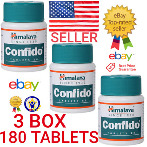 3 Pack Herbal Confido 180 Tablets OFFICIAL USA INCREASE SEXUAL WELLNESS EXP 2023