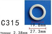 "5PCS Car Nylon Plastic Washer O Ring Seal 19mm 3/4"" M19 I.D. / 27mm 11/16"" O.D."
