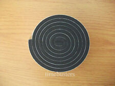 1m Black Single Sided Foam Tape Closed Cell 20mm Wide x 4.5mm Thick