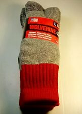 615295694cb2a Wolverine Hunter Wool Over-the-Calf Boot Sock, Large, 2 pr $14.99