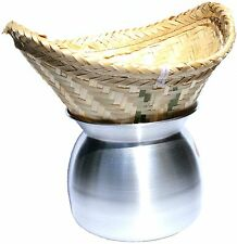 Laos Pot for Steam Cooking V Rice Traditional reisdämpfer Bamboo Basket Cooker