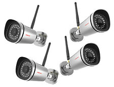 4 x Foscam fi9900p Full HD 2 mp IP WLAN cámara de vigilancia red inalámbrica cámara