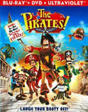The Pirates! Band of Misfits QUAD PLAY (Blu-Ray 3D+Blu-Ray+DVD+Digital Copy),NEW