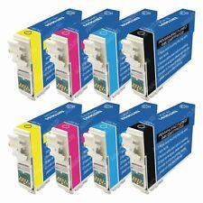 8-PACK Ink Cartridges for Epson Stylus N11 NX100 NX105 NX110 NX115 Printer