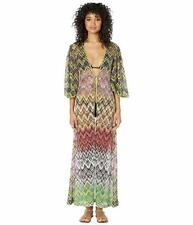 NWT MISSONI MARE LUREX NET LONG CARDIGAN COVER-UP, SIZE 40