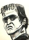 Rob Zombie's Munsters ACEO ATC original Card  miniature collectible Painting