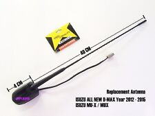 Replacement AM FM Radio Aerial Antenna Roof for Isuzu D-Max Dmax MUX MU-X 12-18