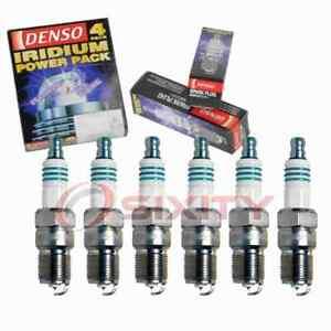 6 pc Denso Iridium Power Spark Plugs for 1988-1991 Buick Reatta 3.8L V6 eu