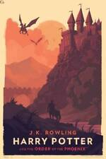Olly Moss Harry Potter and Order of the Phoenix Print HP Poster