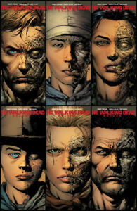 Image Comics The Walking Dead Deluxe #1-6 2nd Print Variant Set