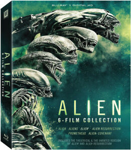Alien - Alien: 6-Film Collection [New Blu-ray] Boxed Set, Digitally Ma