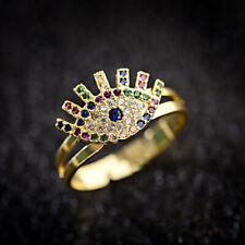 Evil Eye Jewelry Evil Eye Adjustable Ring Lucky Faith Protection For Girls Women