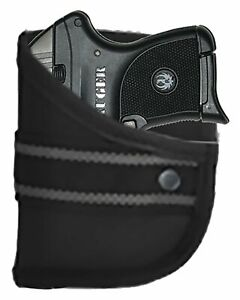 Ruger LCP 380 With Viridian Laser Designed Custom Woven Poly Pocket Holster (W2)