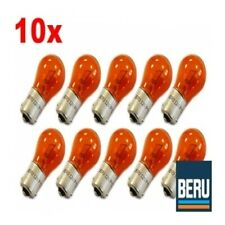10x BERU 12V 21W BLINKERLAMPE BIRNE BLINKER GELB/ORANGE BAU15S 500312213