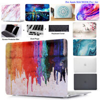 """Hard Case Cover For Macbook Air/Pro/M1 13 15"""" 16"""" W/N Touch ID 2016-2020 Retina"""