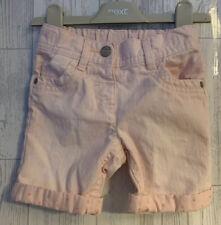 Girls Age 18-24 Months - Next Pink Denim Shorts