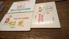 lot de 3 livres de Nitka Oh docteur ! Vie de chien Vive les vacances