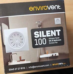 ENVIROVENT SILENT 100 - Whisper Quiet WC & Bathroom Extract Fan