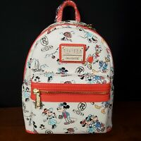 *Actual Bag* Disney Parks Riviera Resort Mini Loungefly Backpack Mickey Minnie