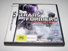 Transformers War for Cybertron Decepticons Nintendo DS 2DS 3DS Game Preloved *Co