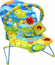 Bebe Style Baby Rocker Bouncer Reclining Chair Soothing Music Vibration Toys