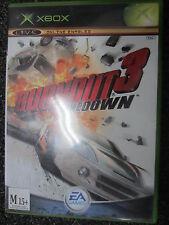 Burnout 3 Takedown Original Xbox Game PAL