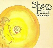 Volume One [Digipak] by She & Him (CD, Mar-2008, Merge) BRAND NEW    FAST SHIP
