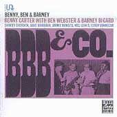 BBB & Co. by Benny Carter (CD, 1992, OJC) Ben Webster; Barney Bigard NEW
