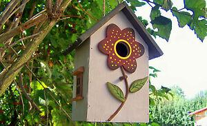 Vogelhaus, Nistkasten, Vogelhäuschen, `Sonnenblume`