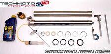 fork rebuild service seals suspension TRIUMPH TRIDENT 750 1997 98