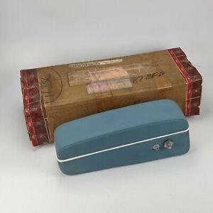 Rolls Royce UB71030A1 Armrest Assy w/o Phone Holder - hide blue leather