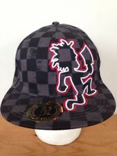Insane Clown Posse ICP Hatchetman Rude Boy Checkered Juggalo Hat Fitted S