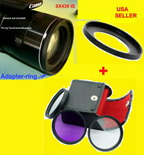 ADAPTER+FILTER KIT CPL 52mm > CAMERA CANON POWERSHOT SX430IS SX430 IS SX-430IS