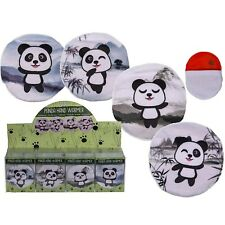 Panda Reusable Hand Warmer With Removable Cover Adults Novelty Gift