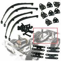 4Pcs/set Black Steel Leaf Spring Suspension for RC 4WD D90 1/10 RC Crawler Cars
