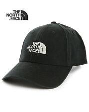THE NORTH ® Gorra De Béisbol Sombrero Nuevo FACE Negro Totalmente Ajustable Tamaño Libre