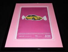 2004 Mitsubishi Lancer Framed 11x14 ORIGINAL Vintage Advertisement