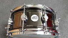 DW Drum Workshop Design Series Black Nickel Over Brass 6.5x14 Snare Drum