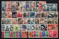 Q139969/ REUNION – YEARS 1949 - 1972 USED SEMI MODERN LOT – CV 150 $