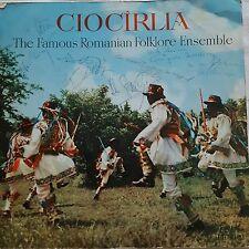 CIOCIRLIA- Famous Romanian Folklore Ensemble LP EPE0219 1968 SIGNED Ex.Cond