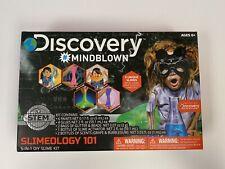 Discovery #Mindblown Slimeology 101 5-in-1 Diy Slime Kit - New