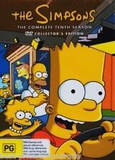 The SIMPSONS: The COMPLETE Season 10 DVD TV SERIES BRAND NEW 4-DISCS BOX SET R4