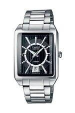 Casio Collection Armbanduhr Edelstahl Datum Silber Analog BEM-120D-1AVEF