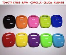 Cover chiave guscio silicone TOYOTA YARIS - RAV4 - COROLLA - CELICA - AVENSIS