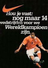 Voetbal ansichtkaart Nike : Nederland (bb251)